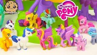 MLP Shining Armor, Princess Cadance, Rainbow Dash + More My Little Pony 10 Pack Set Video