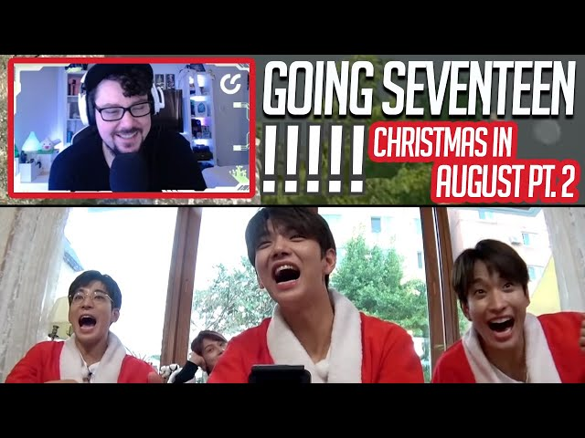 Mikey Reacts to GOING SEVENTEEN 2020 - Christmas in August #2