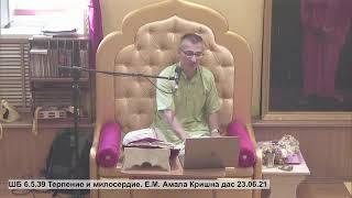 ШБ 6.5.39 Терпение и милосердие. Е.М. Амала Кришна дас 23.06...