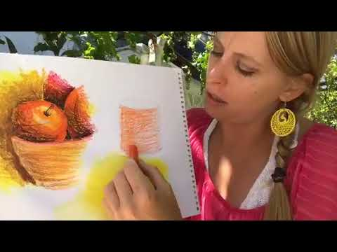 ART COURSE FREE ONLINE Task 9: Still life & Oil pastels
