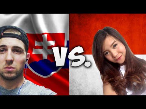 Language Challenge: Indonesia Vs. Slovakia w/ Monica