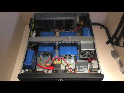 Small Scale Home Energy Storage System for Entertainment Usage (AC-Coupled / Off Grid)