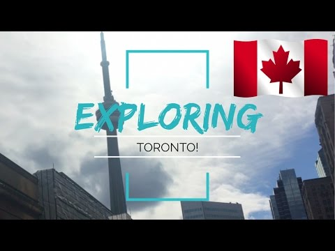 WORST TRIP EVER?! | Another trip to Toronto! CN Tower & Hockey Hall of Fame
