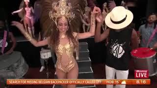 Rio Projekt Sunrise on 7 - Brazilian Samba dancers and Bateria