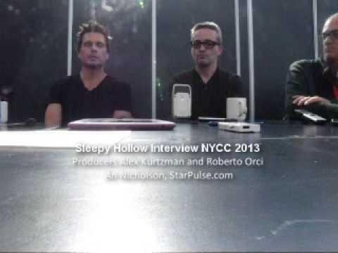 Sleepy Hollow Producers Alex Kurtzman and Roberto Orci NYCC 2013
