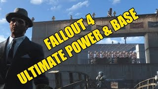 Fallout 4 Power House - Ultimate power, Sanctuary Hill, Best base (PS4)