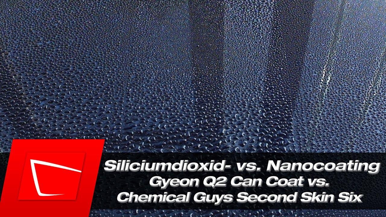 gyeon q2 can coat keramikversiegelung vs chemical guys. Black Bedroom Furniture Sets. Home Design Ideas