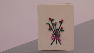 How to Prepare Flower Bouquet Card- HomeArtTv By Juan Gonzalo Angel