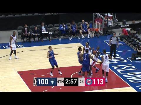 Brandon Ashley Posts 17 points & 10 rebounds vs. Long Island Nets