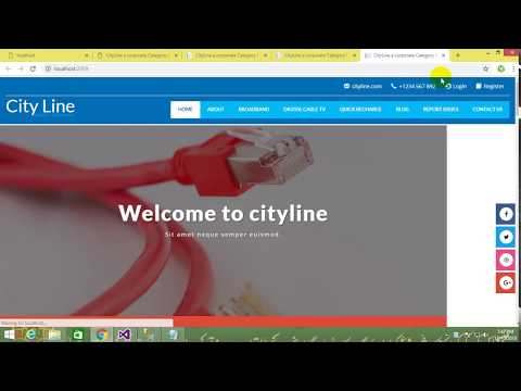 How To Convert Html Template Into Asp.net Mvc Pages || Login Pop-Up Modal  Bootsrap In Hindi /Urdu