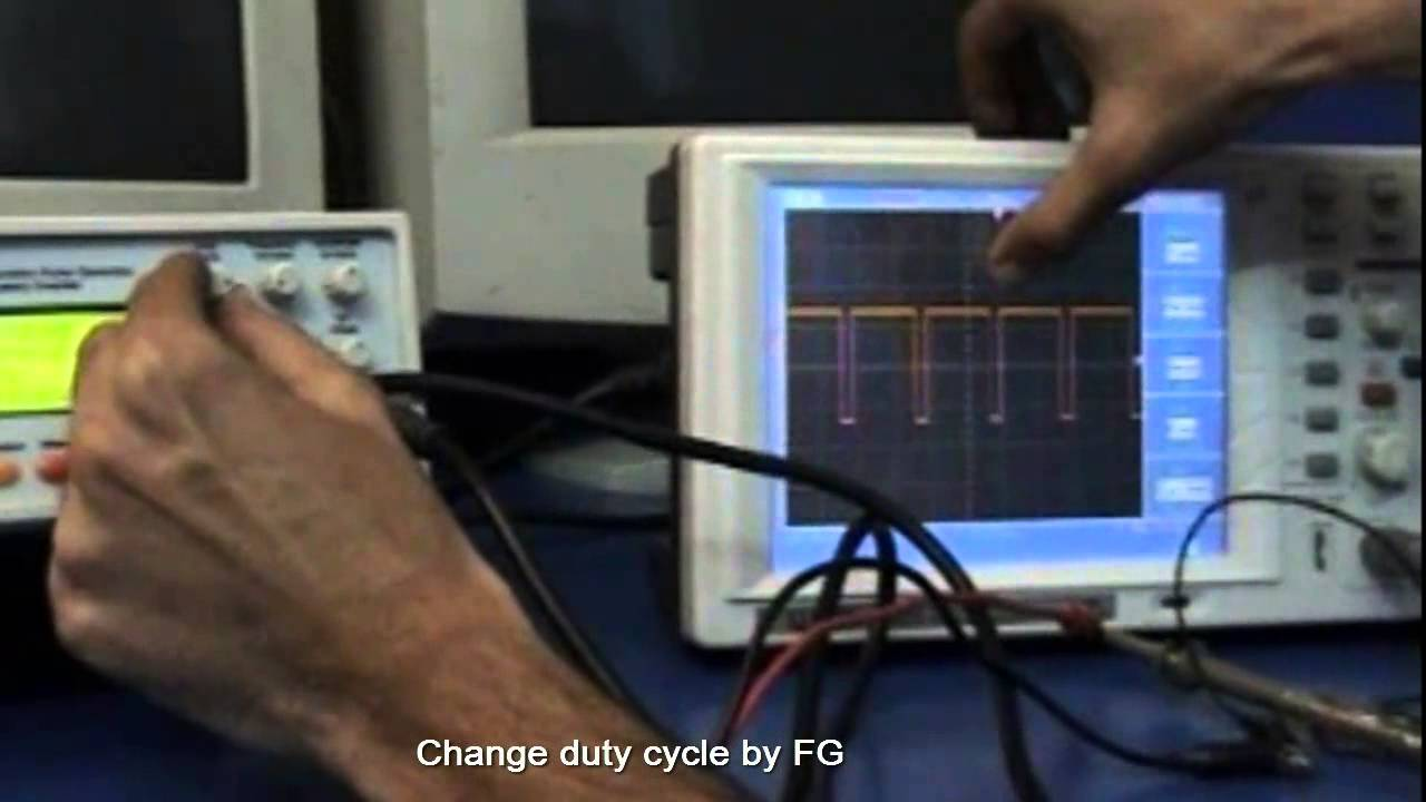 Tishitu Servo Motor Control By Pwm Through Function Generator And Is A Controlled Pulses It Positions S Shaft Dso Digital Storage Oscilloscope Youtube