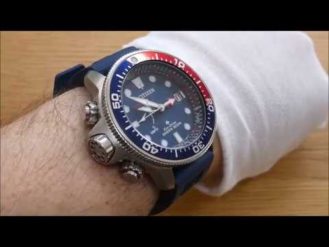 Citizen Eco-Drive BN2038-01L Promaster Aqualand Dive Watch, Lets Take A Look.