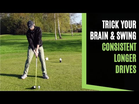 GOLF: HOW HIGH TO TEE THE DRIVER TO TRICK YOUR BRAIN AND SWING FOR CONSISTENT LONGER GOLF DRIVES