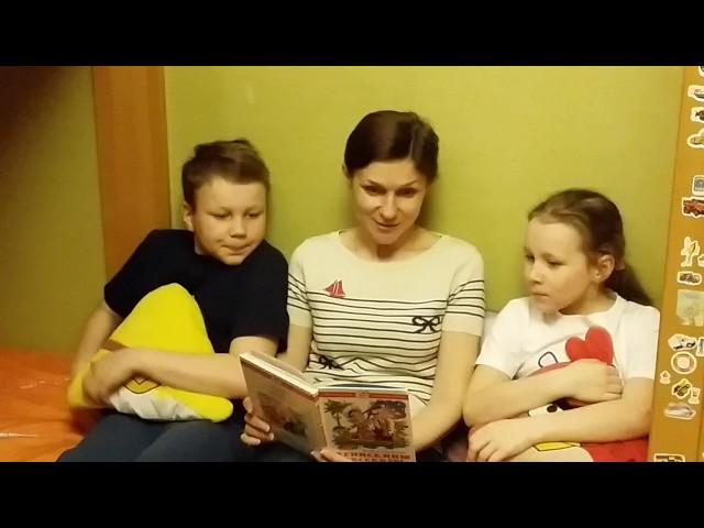 Изображение предпросмотра прочтения – ВалентинаЛошманова читает произведение «Заколдованная буква» В.Ю.Драгунского