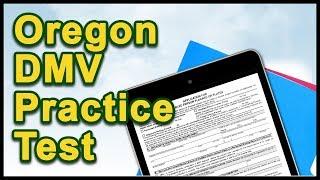 Oregon DMV Practice Test