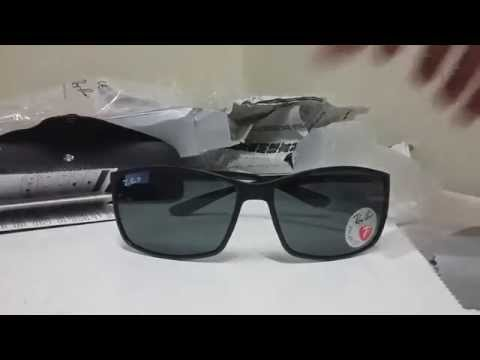 Unboxing - Óculos Ray Ban rb4179 Fibra de Carbono  Aliexpress - YouTube a6f81f459a
