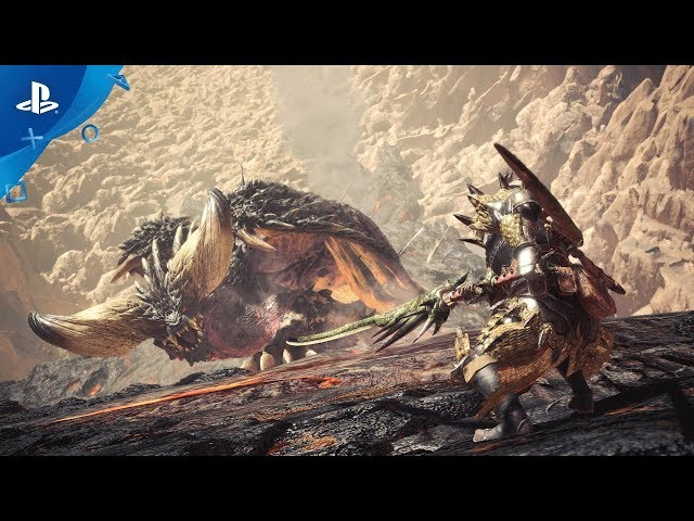 Monster Hunter: World - PSX 2017: Third Fleet Trailer | PS4