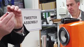 Bowers & Wilkins Factory Tour with Andy Kerr