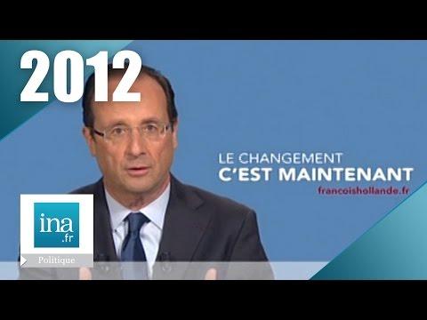 Les candidats à l'élection présidentielle de 2012 | Archive INA