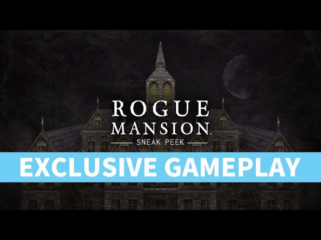 Indie Rougelike Survival Horror Rogue Mansion exclusive Early look