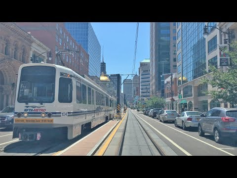Driving Downtown - Buffalo 4K - New York USA