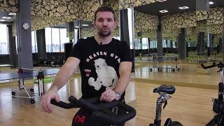 Інструкція: як налаштувати велосипед для тренування cycle. Evgeny Isupov & Nova Arena Fitness.
