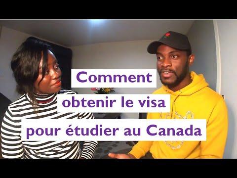 Etudier Au Canada - Démarches A Suivre (visa étude / Permis étude Canada Ou Québec)