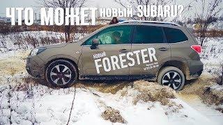 Что Может Новый Subaru Forester 2017 Против Старых Субару?  Оффроад На Субару Форестер