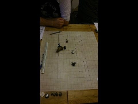 D&D game night, session one part one