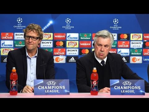 Carlo Ancelotti Full Pre-Match Press Conference - Bayern Munich v Arsenal - Champions League