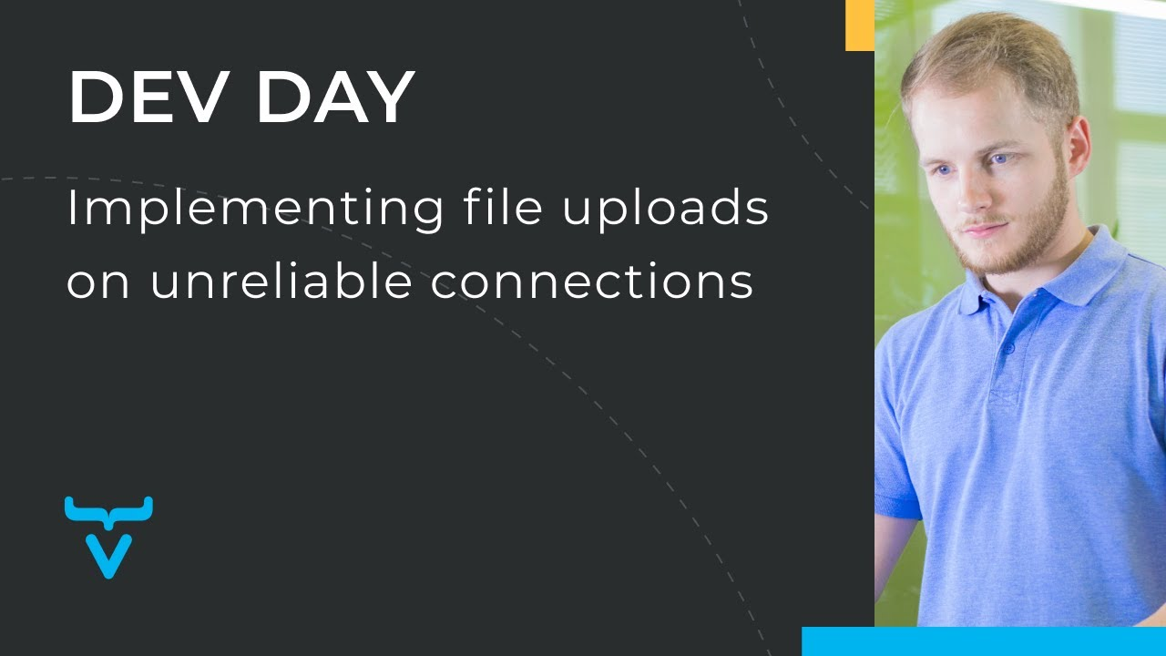 Implementing file uploads on unreliable connections