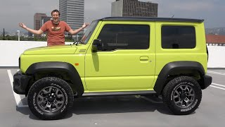 The Suzuki Jimny Is the Affordable Off-Roader America Needs