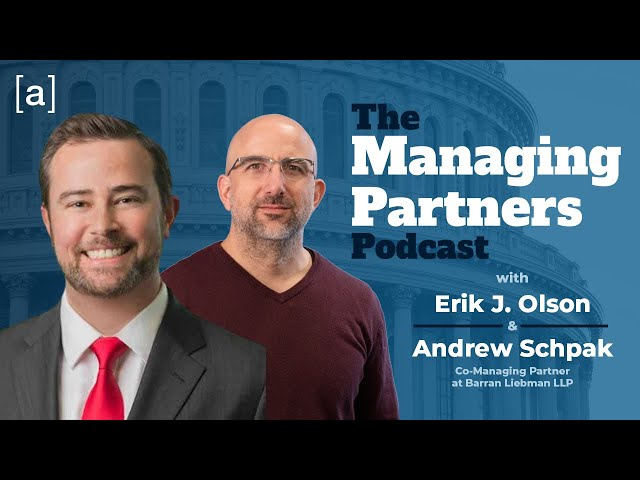 Andrew Schpak - The Managing Partners Podcast