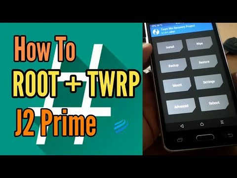 How To ROOT dan Install TWRP J2 Prime SM-G532G | 100% Working