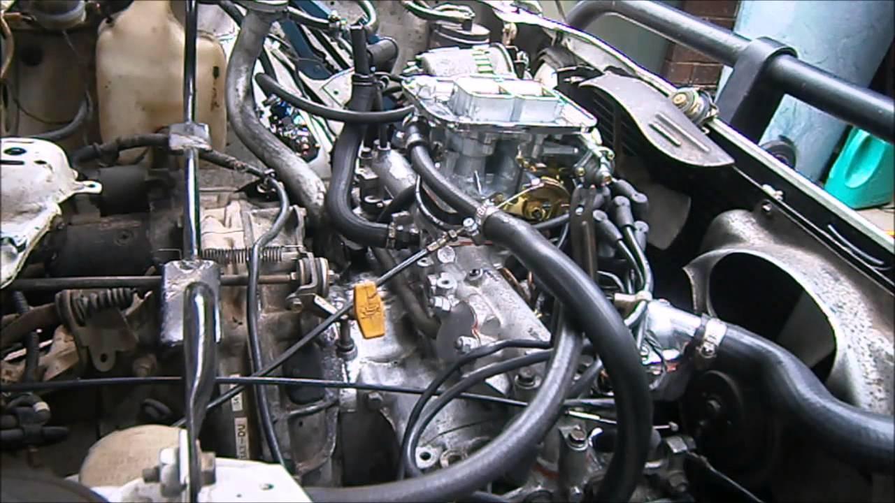 Ea81 Subaru Wiring Harness Change Your Idea With Diagram Military Trailer Plug Weber 32 36 Conversion Youtube Rh Com Engine Eh90