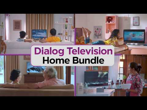 Dialog Television Home Bundle