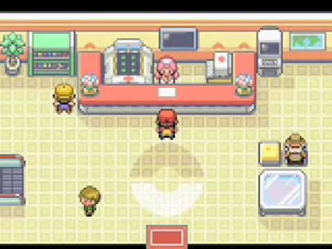 Pokemon Firered Leafgreen Pokemon Center Youtube