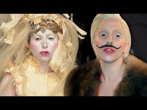 Lady Gaga Craziest Outfits 2013 That Could Be Cartoon Characters- Misty's Music Vlog