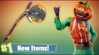 New Tomatohead Skin & Pickaxe, Fortnite Battle Royale Live Stream!