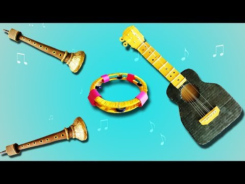 4 Epic DIY Musical Instruments | Best DIY Video | 1 Minute Crafts