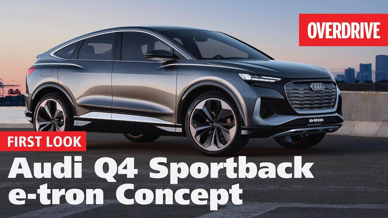 2020 Audi Q4 Sportback e-tron concept | First Look | OVERDRIVE