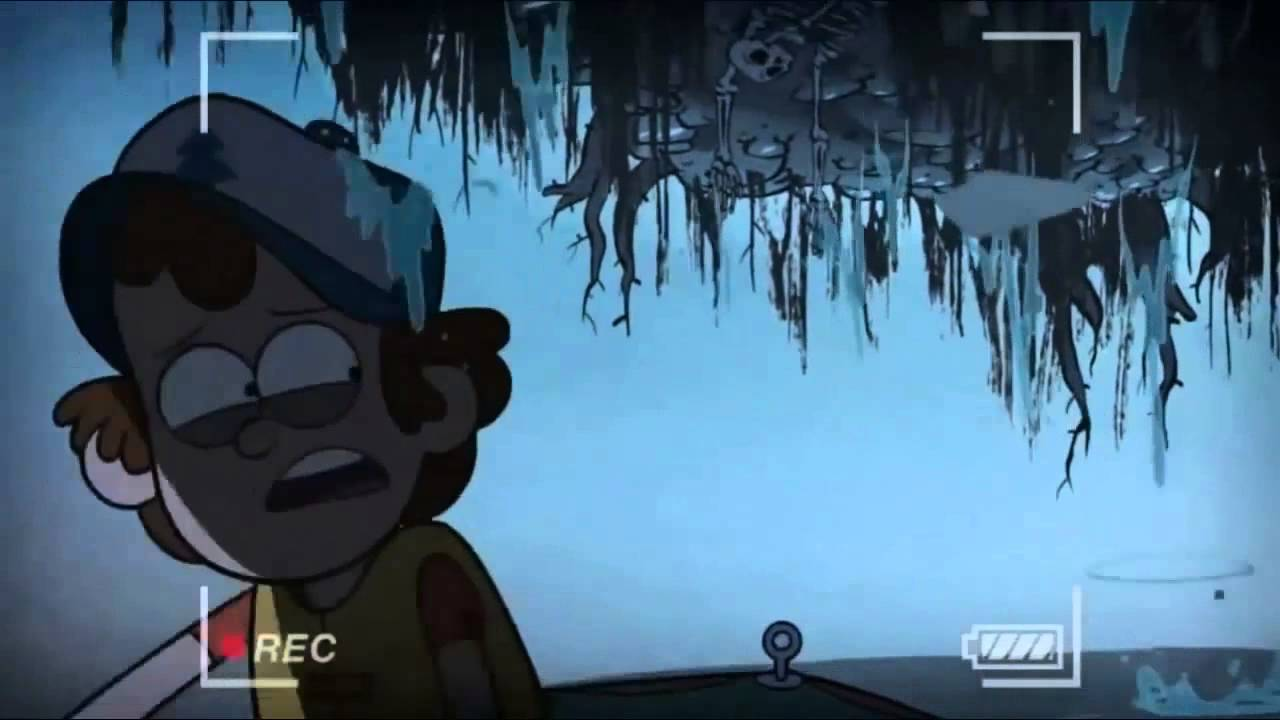 Gravity Falls Summerween Wallpaper What Island Face Says Backwards Dipper S Guide To The
