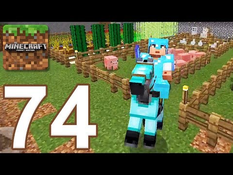 Minecraft: Pocket Edition - Gameplay Walkthrough Part 74 - Survival (iOS, Android)