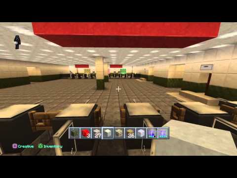 London Underground station, tube station, minecraft Downesi
