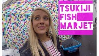 Tsukiji Fish Market: Vlog #110