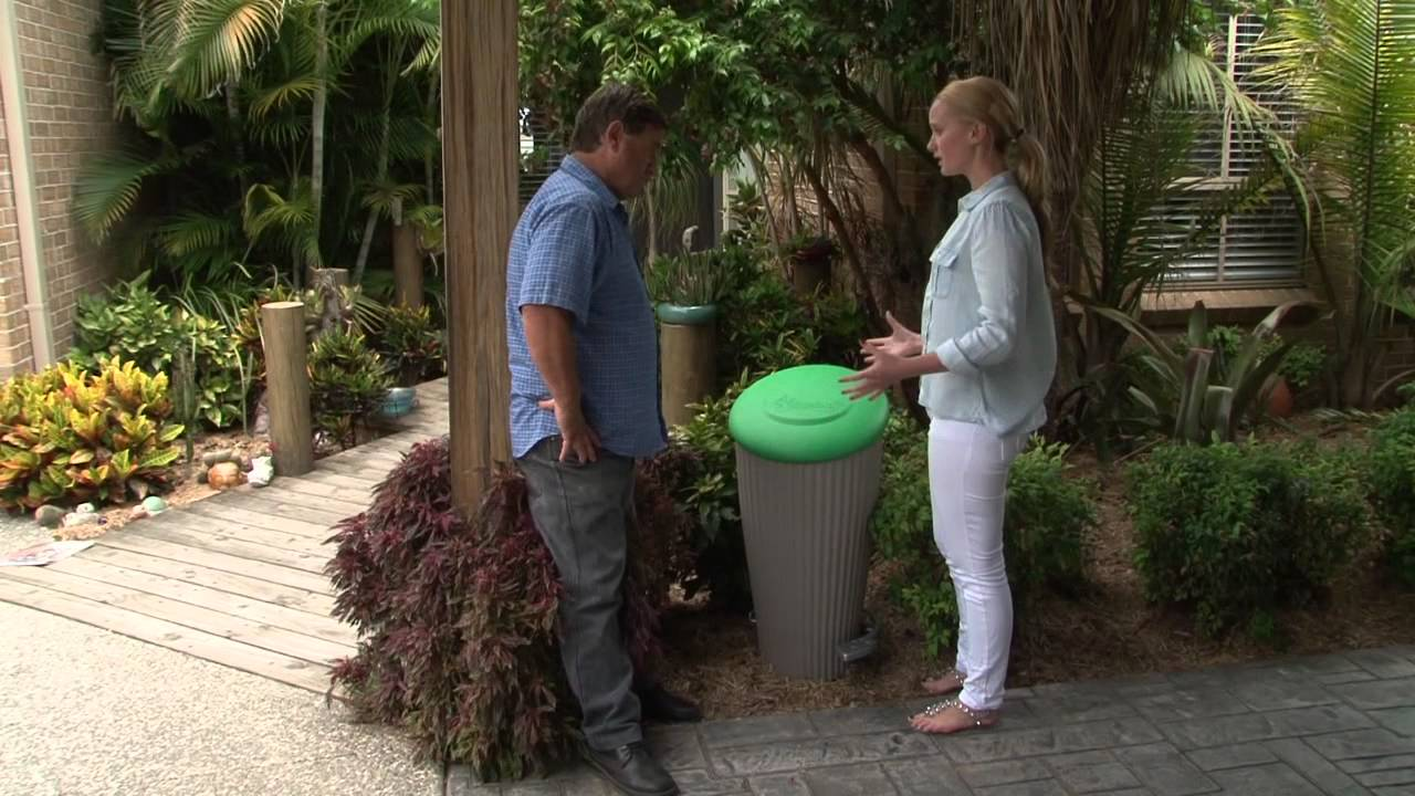 pet poo composter yard art youtube