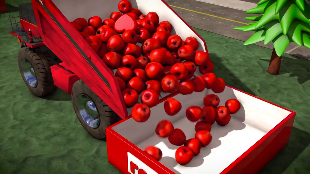 Kidsdee - Brain Candy TV Learn Colors with Dump Trucks