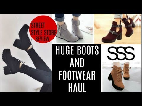 e56ead4de19 HUGE WINTER BOOTS HAUL