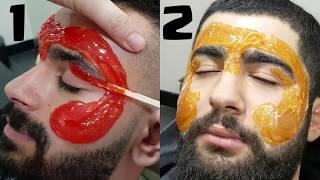 #wax #waxing #eyebrows  Waxing Men's Eyebrows