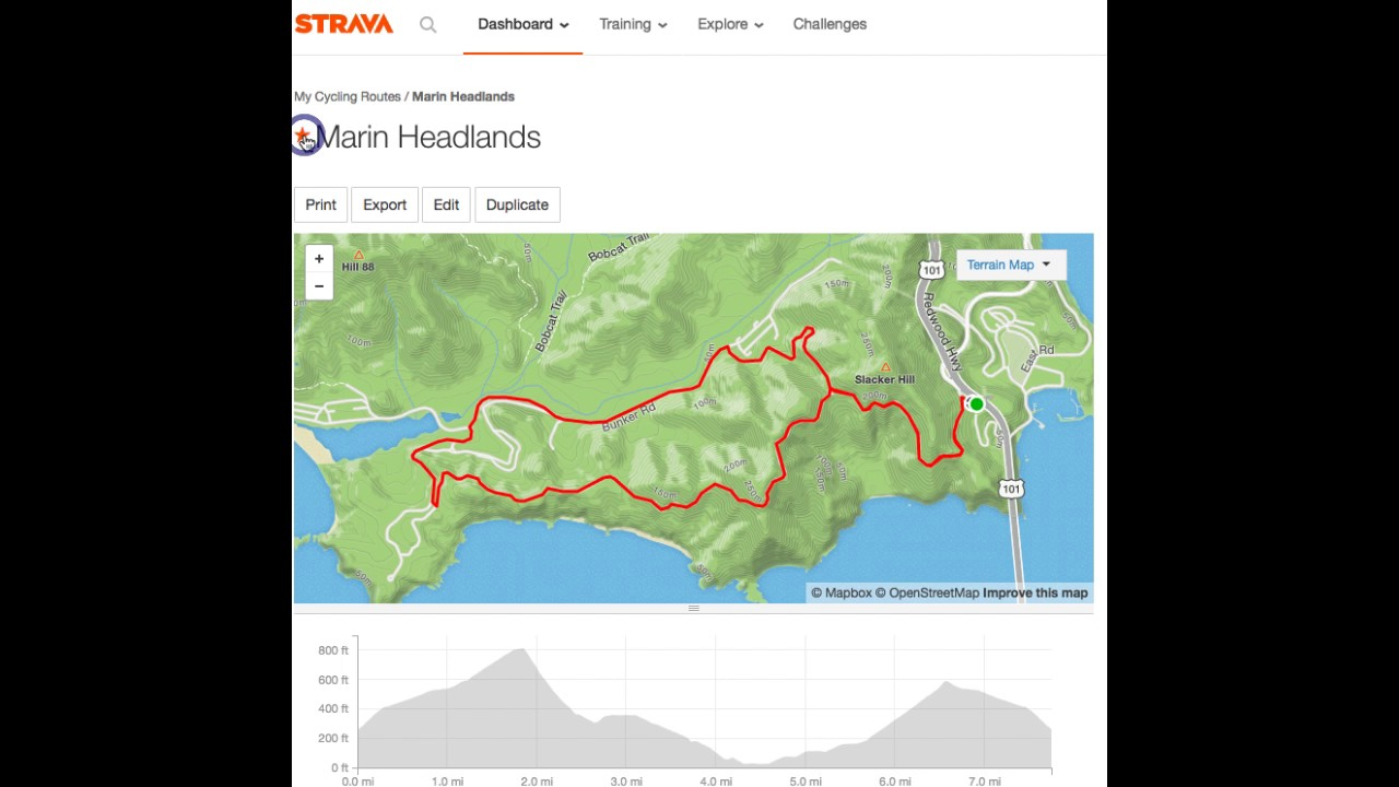 how to follow strava route